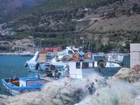 reti e barche da pesca al porto - 27 agosto 2012  - Castellammare del golfo (264 clic)