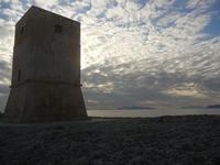 Torre di Nubia ed Isole Egadi al tramonto (903 clic)