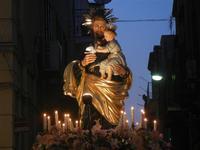 Processione in onore di San Giuseppe Lavoratore - 1 maggio 2012  - Alcamo (1642 clic)