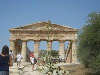 il tempio - 5 agosto 2012  - Segesta (474 clic)