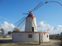 mulino a vento - Frazione SALINAGRANDE - 15 gennaio 2012  - Trapani (529 clic)