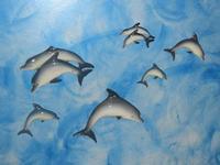piccoli delfini in ceramica - La Vela - 26 febbraio 2012  - Sciacca (855 clic)