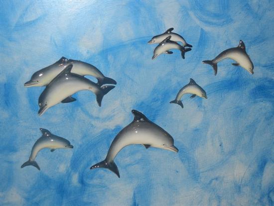 piccoli delfini in ceramica - SCIACCA - inserita il 14-Apr-14