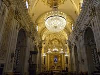 Chiesa del Santissimo Crocifisso - interno - 22 aprile 2012 - Foto di Nicolò Pecoraro  - Calatafimi segesta (489 clic)