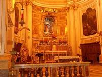 Chiesa del Santissimo Crocifisso - interno - 22 aprile 2012 - Foto di Nicolò Pecoraro  - Calatafimi segesta (477 clic)
