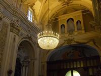 Chiesa del Santissimo Crocifisso - interno - 22 aprile 2012 - Foto di Nicolò Pecoraro  - Calatafimi segesta (527 clic)
