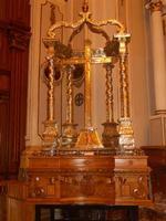 Chiesa del Santissimo Crocifisso - Crocifisso - 22 aprile 2012 - Foto di Nicolò Pecoraro  - Calatafimi segesta (483 clic)
