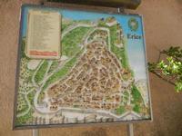 pianta della città - 3 giugno 2012  - Erice (414 clic)