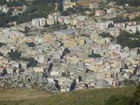 panorama della città dal monte Erice - 3 giugno 2012  - Valderice (644 clic)