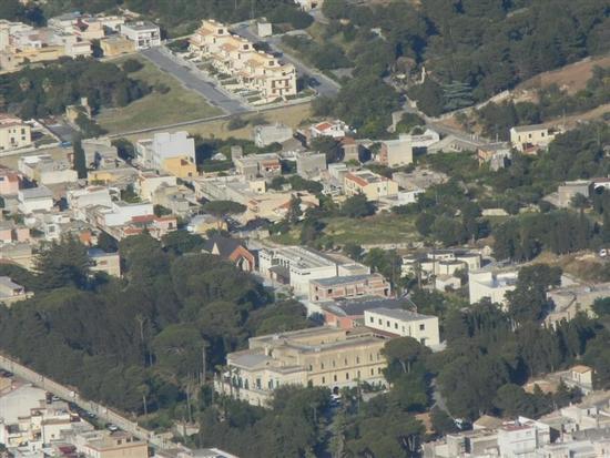scorcio della città dal Monte Erice - VALDERICE - inserita il 11-Mar-15