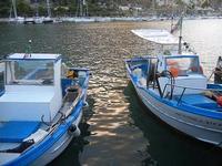 al porto - barche e riflessi di sole sul mare - 20 settembre 2012  - Castellammare del golfo (352 clic)