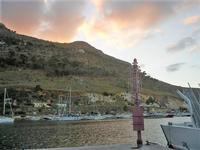 al porto - crepuscolo - 20 settembre 2012  - Castellammare del golfo (378 clic)