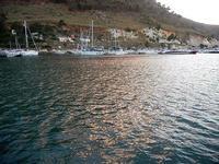 al porto - riflessi di sole sul mare - 20 settembre 2012  - Castellammare del golfo (390 clic)