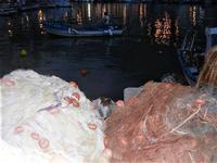 reti e barche al porto - 19 settembre 2012  - Castellammare del golfo (295 clic)