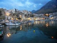 panorama città dal porto - 19 settembre 2012  - Castellammare del golfo (327 clic)