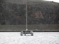 catamarano  - rientro in porto - 20 settembre 2012  - Castellammare del golfo (1498 clic)