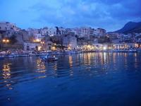 panorama porto e città - 19 settembre 2012  - Castellammare del golfo (330 clic)
