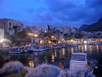 panorama porto e città - 19 settembre 2012  - Castellammare del golfo (812 clic)