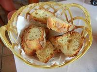 cestino con pane affettato - La Perla - 21 settembre 2012  - Marausa lido (1006 clic)