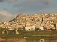 panorama città - 26 febbraio 2012  - Sambuca di sicilia (1059 clic)