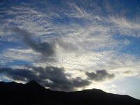 Spiaggia Plaja - nuvole dopo il tramonto -20 settembre 2012  - Castellammare del golfo (962 clic)