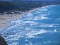 Spiaggia di Ponente - panorama dal Belvedere - 16 settembre 2012  - Balestrate (1001 clic)