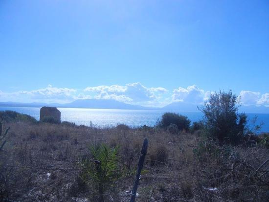 Torre di avvistamento e Golfo di Castellammare - Terrasini - inserita il 09-Dec-16