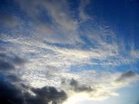 nuvole - Spiaggia Plaja - 20 settembre 2012  - Castellammare del golfo (843 clic)