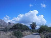 monti e nuvole - 16 settembre 2012  - Terrasini (348 clic)