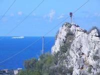 vista sul mare e nave - 16 settembre 2012  - Cinisi (550 clic)
