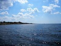mare e costa in controluce - 21 settembre 2012  - Marausa lido (1236 clic)