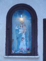 edicola votiva Madonna con Bambino - 16 settembre 2012  - Castellammare del golfo (291 clic)