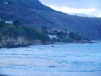 panorama costiero - Spiaggia Plaja - 16 settembre 2012  - Castellammare del golfo (240 clic)