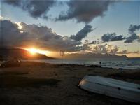 tramonto nuvoloso - Zona Canalotto - 16 settembre 2012  - Alcamo marina (292 clic)