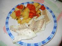 spigola con patate al forno - 14 settembre 2012  - Alcamo (471 clic)