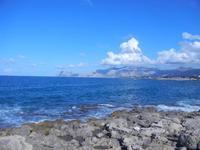 panorama costiero fino a Capo Gallo - 16 settembre 2012  - Cinisi (578 clic)