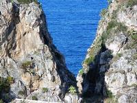 faraglioni - particolare - 21 settembre 2012  - Scopello (1272 clic)