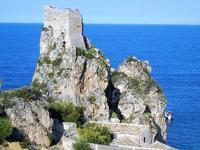 torre di avvistamento, faraglioni e tonnara - 21 settembre 2012  - Scopello (2123 clic)