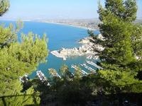 panorama dal Belvedere - città e golfo - 21 settembre 2012  - Castellammare del golfo (689 clic)
