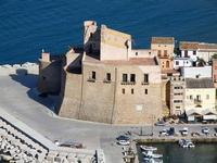 panorama dal Belvedere - Castello a Mare - 21 settembre 2012  - Castellammare del golfo (489 clic)
