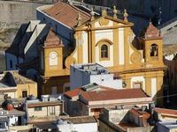panorama dal Belvedere - Chiesa Madre - 21 settembre 2012  - Castellammare del golfo (1739 clic)