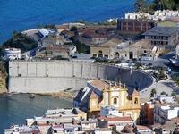 panorama dal Belvedere - Chiesa Madre - Cala e Piazza Petrolo - 21 settembre 2012  - Castellammare del golfo (479 clic)