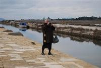 Saline e Imbarcadero Storico per l'Isola di Mozia - fotografando - 29 gennaio 2012 - foto di Nicolò Pecoraro  - Marsala (1519 clic)