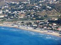 panorama dal Belvedere - Spiaggia Plaja - 21 settembre 2012  - Castellammare del golfo (617 clic)