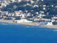 panorama dal Belvedere - Alcamo Marina - Zone Battigia, Tonnara - 21 settembre 2012  - Castellammare del golfo (650 clic)