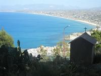 scorcio della città e golfo dal Monte Inici - 6 maggio 2012  - Castellammare del golfo (388 clic)
