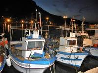 al porto di sera barche - 18 settembre 2012  - Castellammare del golfo (365 clic)