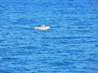 Baia di Guidaloca - canotto - 21 settembre 2012  - Castellammare del golfo (1110 clic)