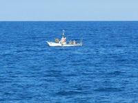 Baia di Guidaloca - barca da pesca - 21 settembre 2012  - Castellammare del golfo (553 clic)