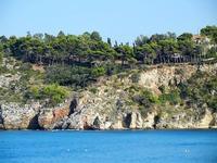 Baia di Guidaloca - costa: particolari - 21 settembre 2012  - Castellammare del golfo (972 clic)
